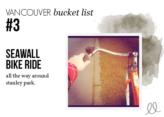 Vancouver - Biking the Seawall