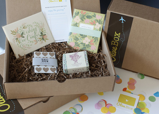Paper Products by Olive Box
