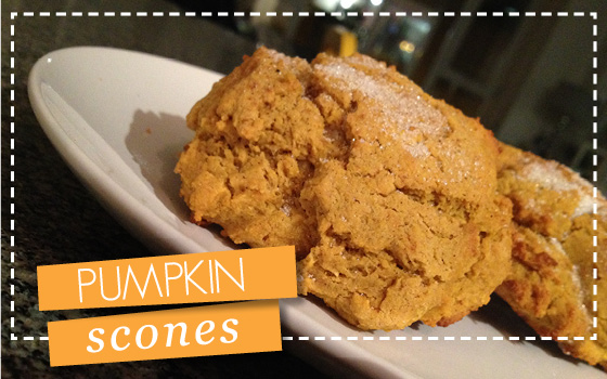 pumpkin scones | recipes
