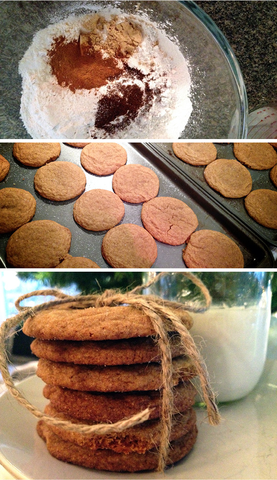 Holiday Ginger Cookie Recipe