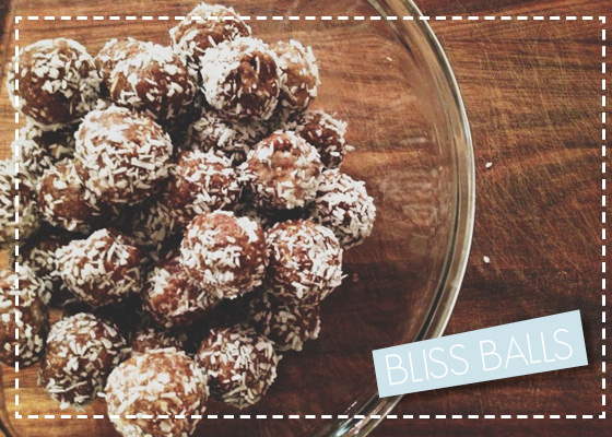Bliss Balls - Healthy Treats