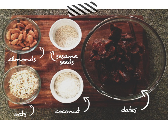 Bliss Balls - Ingredients - Recipe