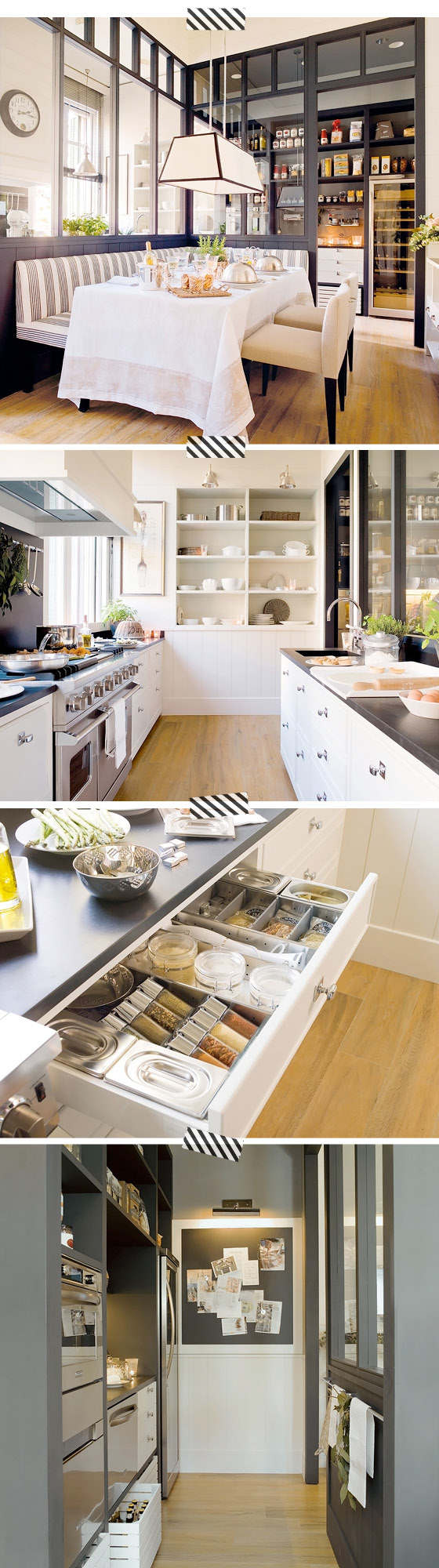 organized kitchen - interior design