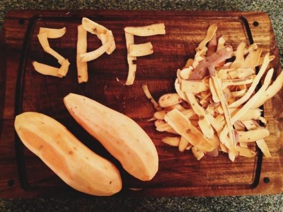 Breville Sous Chef - Sweet Potato Fries