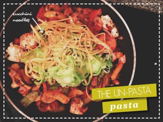 Zucchini Spaghetti - Gluten Free Pasta